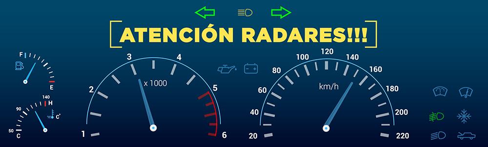 Radares en Murcia