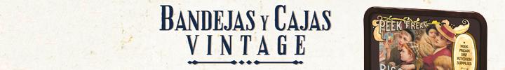 BANDEJAS Y CAJAS VINTAGE