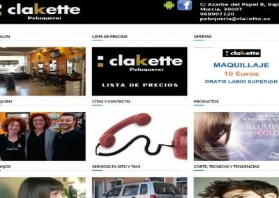 Clakette Peluqueros
