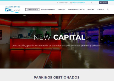 Aparcamientos New Capital