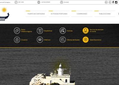 Mejor web de ocio o servicios: Autoridad Portuaria de Cartagena