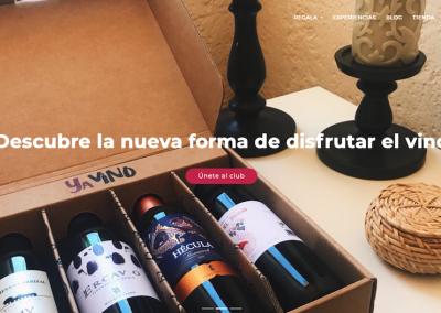 Mejor web de 'start-up': Yavinoclub