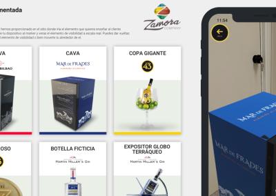 App Realidad Aumentada Zamora Company