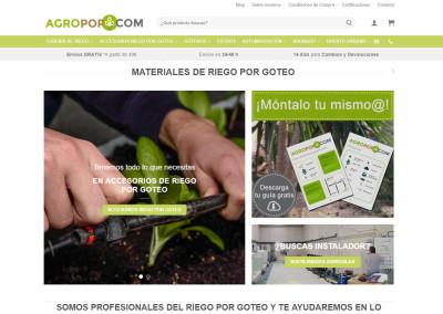 Mejor e-commerce: Agropop
