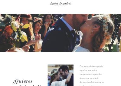 Daniel De Andrés – Videógrafo de bodas