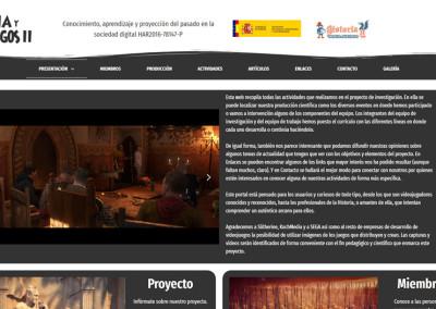 Mejor web personal: Historia y Videojuegos II