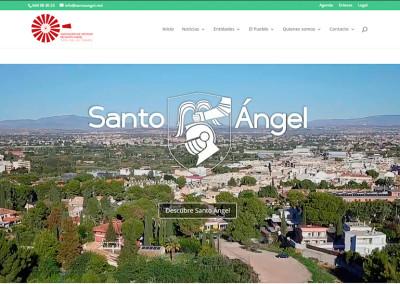 Web del pueblo de Santo Ángel