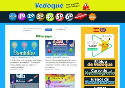 Vedoque Juegos Educativos