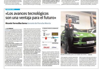 Ricardo Torrecillas: «Los avances tecnológicos son una ventaja para el futuro»