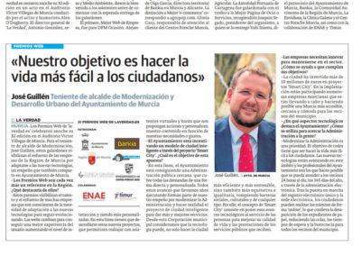 José Guillén: «Nuestro objetivo es hacer la vida más fácil a los ciudadanos»