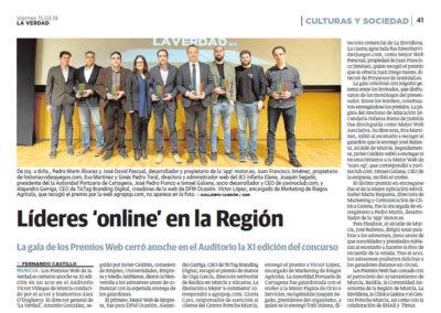 Líderes 'online' en la Región