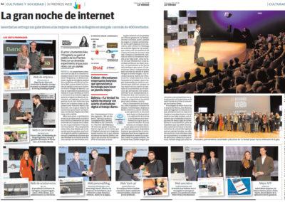 Crónica: La gran noche de internet
