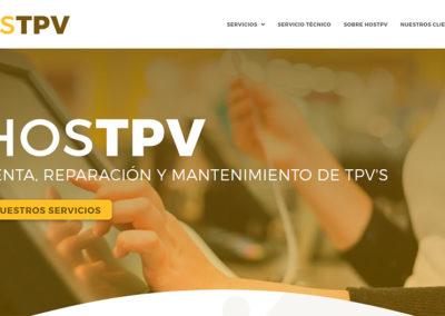 HOSTPV: venta, reparación y mantenimiento de TPV's