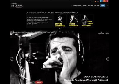 Juan Blas Becerra – Clases de Armónica Online
