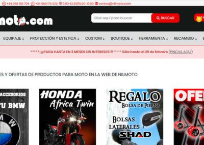 Nilmoto.com Accesorios para moto