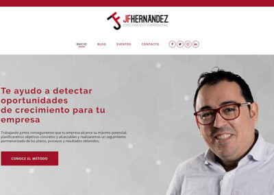 José Hernández Crecimiento Empresarial