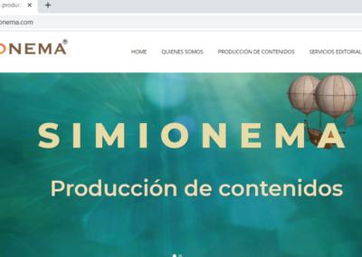 Simionema producción de contenidos