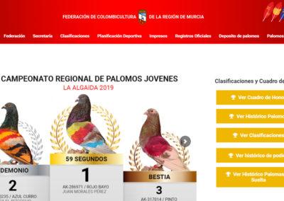 Federación de colombicultura de la Región de Murcia
