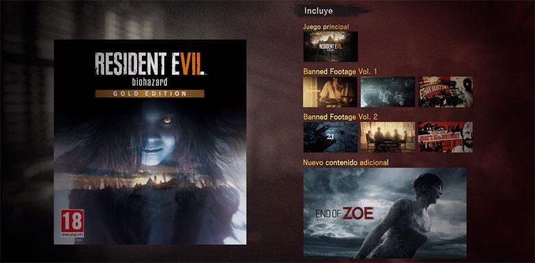 Resident Evil 7 Gold