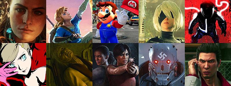mejores juegos de 2017